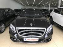 Bán Mercedes Benz S500 2014 màu đen, nội thất kem, xe đẹp, biển đẹp