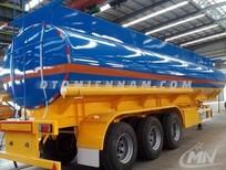 Nhà phân phối chính hãng sơ mi rơ mooc bồn chứa xăng dầu doosung 39m3