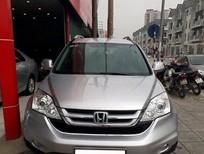 Cần bán xe Honda CR V 2.4 AT đời 2011, màu bạc, giá 885tr