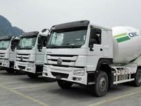 Nghệ An bán xe trộn nhập khẩu Howo 10 khối, 12 khối, 16 khối - 0964674331