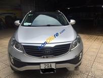 Cần bán lại xe Kia Sportage 2.0 đời 2013, màu bạc, xe đẹp