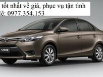 Bán xe Toyota Vios đời 2017, màu nâu, giá 622tr