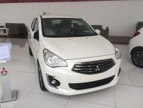 [TP.Hồ Chí Minh] Mitsubishi Attrage CVT 2017, giá tốt, hỗ trợ cho vay 80% xe