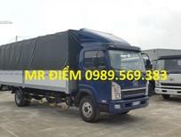 Bán ô tô FAW xe tải thùng Faw 7T25 sản xuất 2017, màu xanh lam, giá 465tr