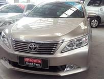 Bán Toyota Camry 2.0E 2012, màu kem (be), 875tr