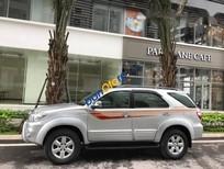 Cần bán xe Toyota Fortuner đời 2011, màu bạc