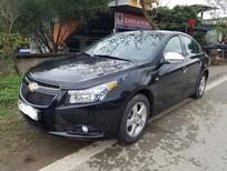 Cần bán Chevrolet Cruze 1.6 đời 2011, màu đen gia 355tr