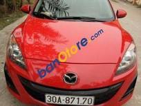 Bán xe Mazda 3 AT sản xuất 2010, màu đỏ
