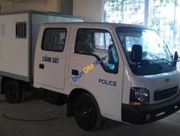 Thaco Kia K2700 II đời 2017, xe thùng lửng, xe chở quân, thùng chở phạm, thùng kín bảo ôn 2 lớp