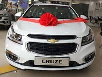 Cần bán xe Chevrolet Cruze 1.8LTZ 2017, màu trắng, hỗ trợ trả góp toàn quốc