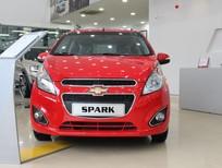 Cần bán xe Chevrolet Spark 1.2LT 2017, màu đỏ, 359 triệu. Hỗ trợ trả góp toàn quốc