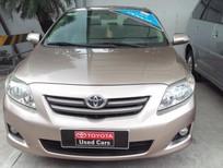 Bán xe Toyota Corolla Altis 1.8AT 2008, màu nâu, giá chỉ 520 triệu