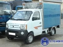 Xe tải Dongben 770kg, thùng kín thùng 2m5, giá rẻ tại Bình Dương