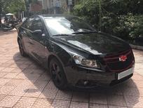 Cần bán Chevrolet Cruze 1.6 MT đời 2014, màu đen, số sàn