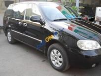 Bán xe Kia Carinval đời 2007 màu đen, nội thất đẹp