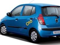 Cần bán Hyundai i10 sản xuất năm 2009, màu xanh lam, xe nhập chính chủ