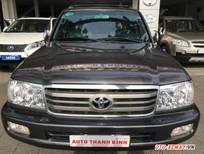 Cần bán lại xe Toyota Land Cruiser đời 2006, màu đen, số sàn, giá tốt