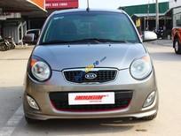 Bán Kia Morning SLX 1.0AT sản xuất 2010, màu xám (ghi), xe nhập