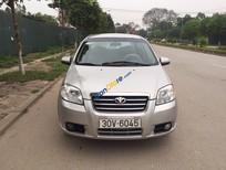 Cần bán xe Daewoo Gentra đời 2009, màu bạc, giá cạnh tranh