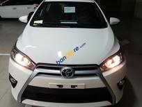Toyota Yaris 1.5G đời 2017 số tự động CVT màu trắng, xe nhập khẩu Thailand