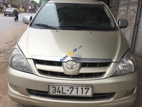 Cần bán xe Toyota Innova G đời 2007, màu bạc, chính chủ giá cạnh tranh