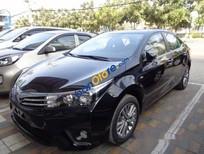Bán Toyota Corolla altis 1.8G AT đời 2017, màu đen