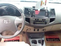 Bán Toyota Fortuner V 1 cầu máu xăng 2013, màu bạc