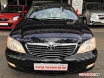 Bán ô tô Toyota Camry 3.0 đời 2003, màu đen, xe gia đình