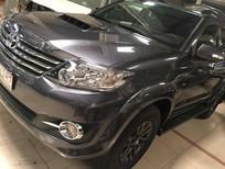 Bán Toyota Fortuner G 2015, màu xám