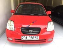 Cần bán Kia Morning SLX đời 2007, màu đỏ, nhập khẩu nguyên chiếc, giá 190tr