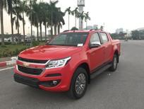 Cần bán xe Chevrolet Colorado Hight Country 2.8 Cao Cấp 2017, màu đỏ, nhập khẩu nguyên chiếc