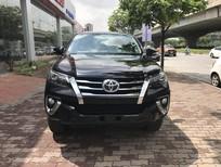 Bán Toyota Fortuner 2.7 2017, màu đen, nhập khẩu nguyên chiếc