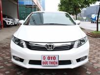Ô tô Đức Thiện bán xe Honda Civic 1.8AT sx 2012, màu trắng, tên tư nhân chính chủ từ đầu