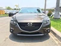 Cần bán xe Mazda 3 đời 2017, màu nâu, giá 645tr
