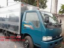 Bán xe tải nhẹ máy dầu Kia K165 tải trọng 2,3 tấn ; 2,4 tấn chạy trong thành phố