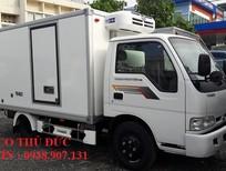 Xe tải đông lạnh Kia K165 chạy trong thành phố tải trọng 2000kg , 2 tấn hỗ trợ mua trả góp ngân hàng