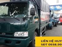 Ngã Tư Bà Điểm bán xe tải Kia tải trọng 2 tấn 4, xe tải 2490kg thùng lửng