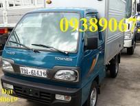 Xe tải nhẹ Towner 800A 900kg, xe tải nhẹ máy xăng dưới 1 tấn trả góp, xe tải Thaco 750kg, xe tải nhẹ 650kg trả góp