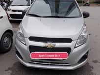 Cần bán Chevrolet Spark Van đời 2013, màu bạc, xe nhập khẩu