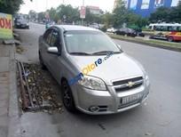 Bán ô tô Chevrolet Aveo SX 2011, màu bạc, xe tư nhân đi cẩn thận, giữ gìn