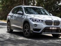 BMW X1 sDrive18i 2017, màu bạc, nhập khẩu, ưu đãi hấp dẫn, có xe giao ngay