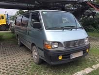 Cần bán lại xe Toyota Hiace MT 2003, màu xanh lam gía bao gồm hoán cải