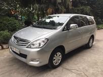 Bán xe Toyota Innova 2.0 G 2011, màu bạc chính chủ gia đình sử dụng