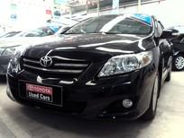 Cần bán lại xe Toyota Corolla altis 1.8AT 2009, màu đen, nhập khẩu chính hãng, 520 triệu