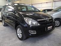 Cần bán Toyota Innova G đời 2006, màu đen, số sàn, 430 triệu