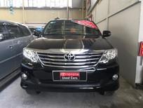 Xe Toyota Fortuner 2.7V 4x2 đời 2013, màu đen, xe đẹp. LH: 0937972585
