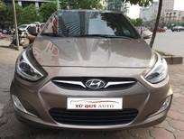 Bán ô tô Hyundai Accent Hatchback 1.4AT đời 2013, màu nâu, nhập khẩu nguyên chiếc, số tự động