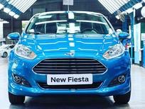 Bán ô tô Ford Fiesta Ecboost 1.0 2018, xe đủ màu giao ngay,hỗ trợ trả góp 80%