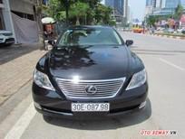 Bán Lexus LS460L 2007 màu đen, nhập khẩu Nhật, xe mang tên cá nhân