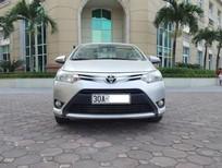 Tôi cần bán gấp xe Toyota Vios 1.5E, màu bạc, số sàn, xe sản xuất năm 2014